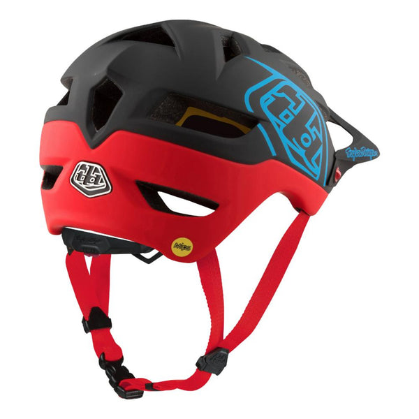 A1 Mips Helmet Classic Black/Red by Troy Lee Designs
