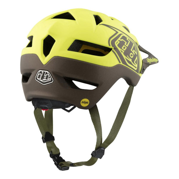 A1 Mips Helmet Classic Yellow/Black by Troy Lee Designs