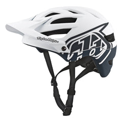 A1 Helmet Drone White/Gray by Troy Lee Designs