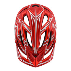 A2 Helmet Mips Pinstripe 2 Red by Troy Lee Designs
