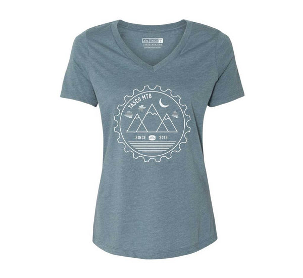 Bespoke Relaxed T-Shirt - Indigo Women's by Tasco MTB