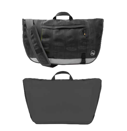 Dravus Messenger Bag - Charcoal by Alchemy Goods