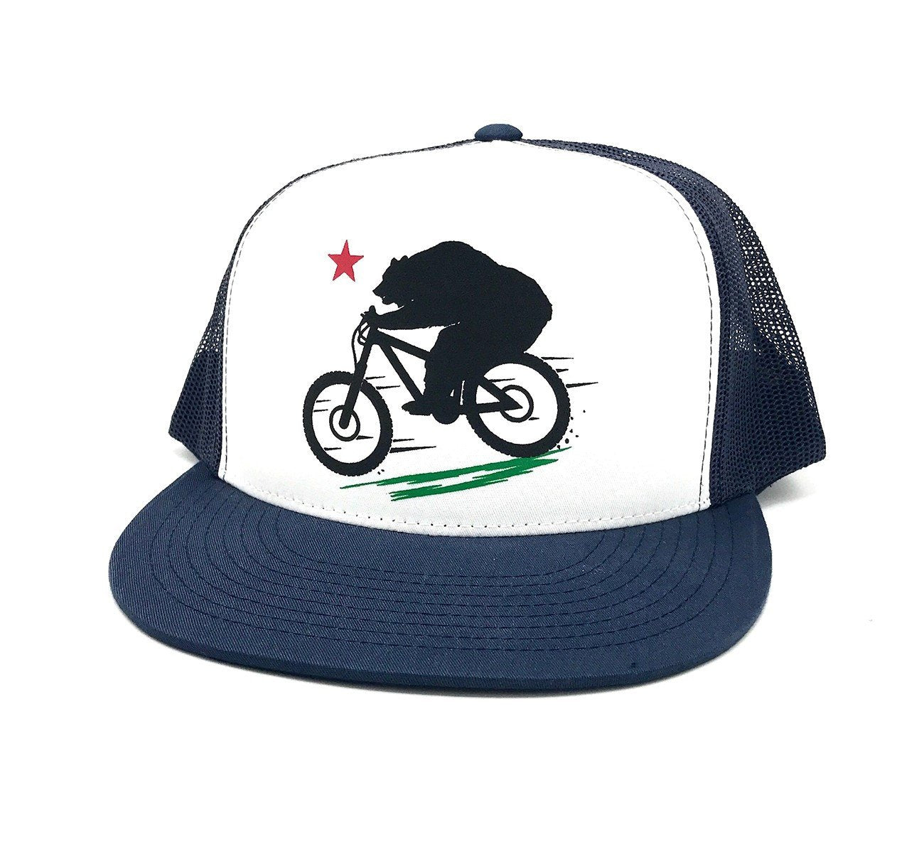 Premium Braaap Trucker Hat - Navy by Tasco MTB
