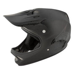 D2 Helmet Midnight 3 Black by Troy Lee Designs