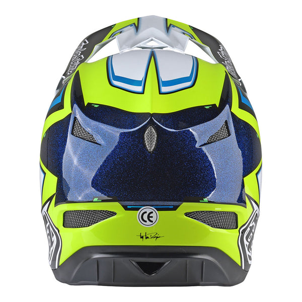 D3 Helmet Cadence Black/Yellow by Troy Lee Designs
