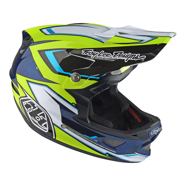 D3 Carbon Helmet Cadence Black by Troy Lee Designs