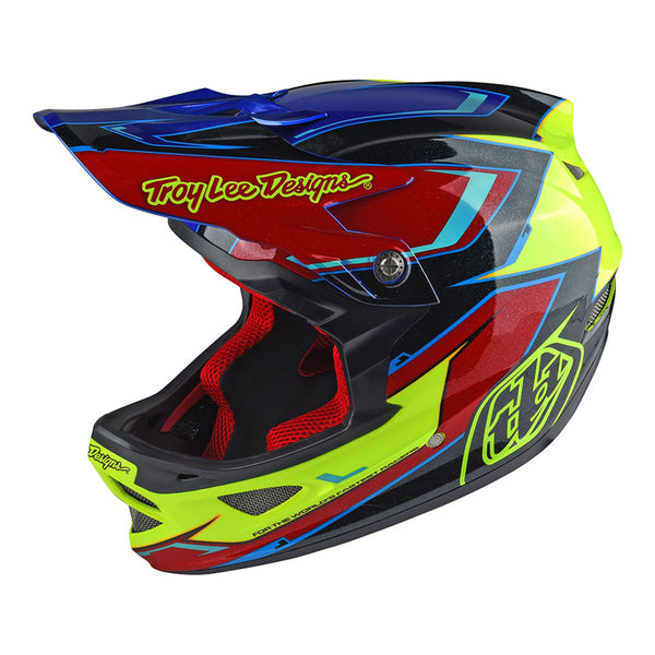 D3 Helmet Cadence Red/Yellow by Troy Lee Designs