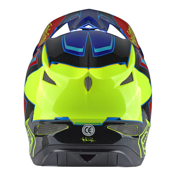 D3 Carbon Helmet Cadence Red by Troy Lee Designs