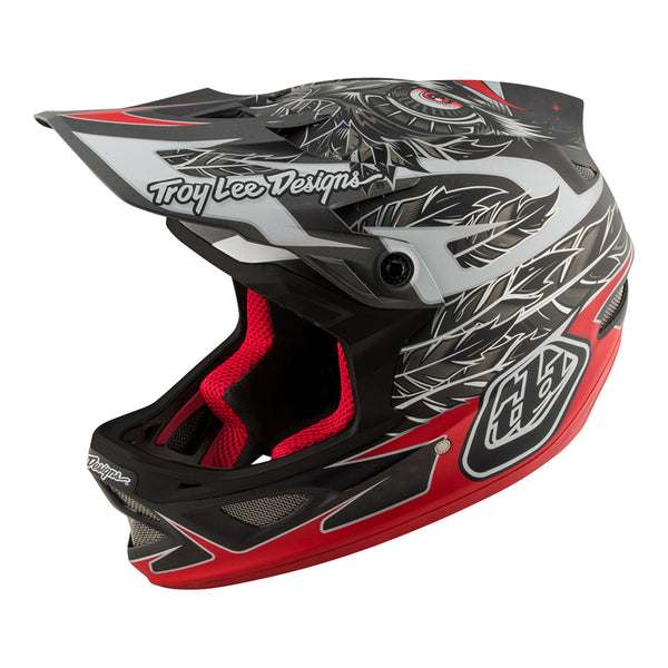 D3 Helmet Nightfall Black by Troy Lee Designs