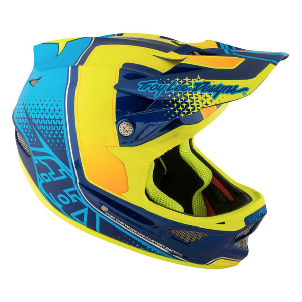 D3 Carbon Helmet Starburst by Troy Lee Designs