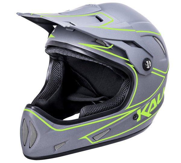 Alpine Rage - Gray/Yellow by Kali Protectives