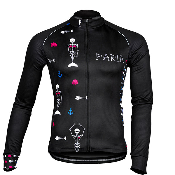 Mermaid Women's Winter Long Sleeve Cycling Jersey by Paria
