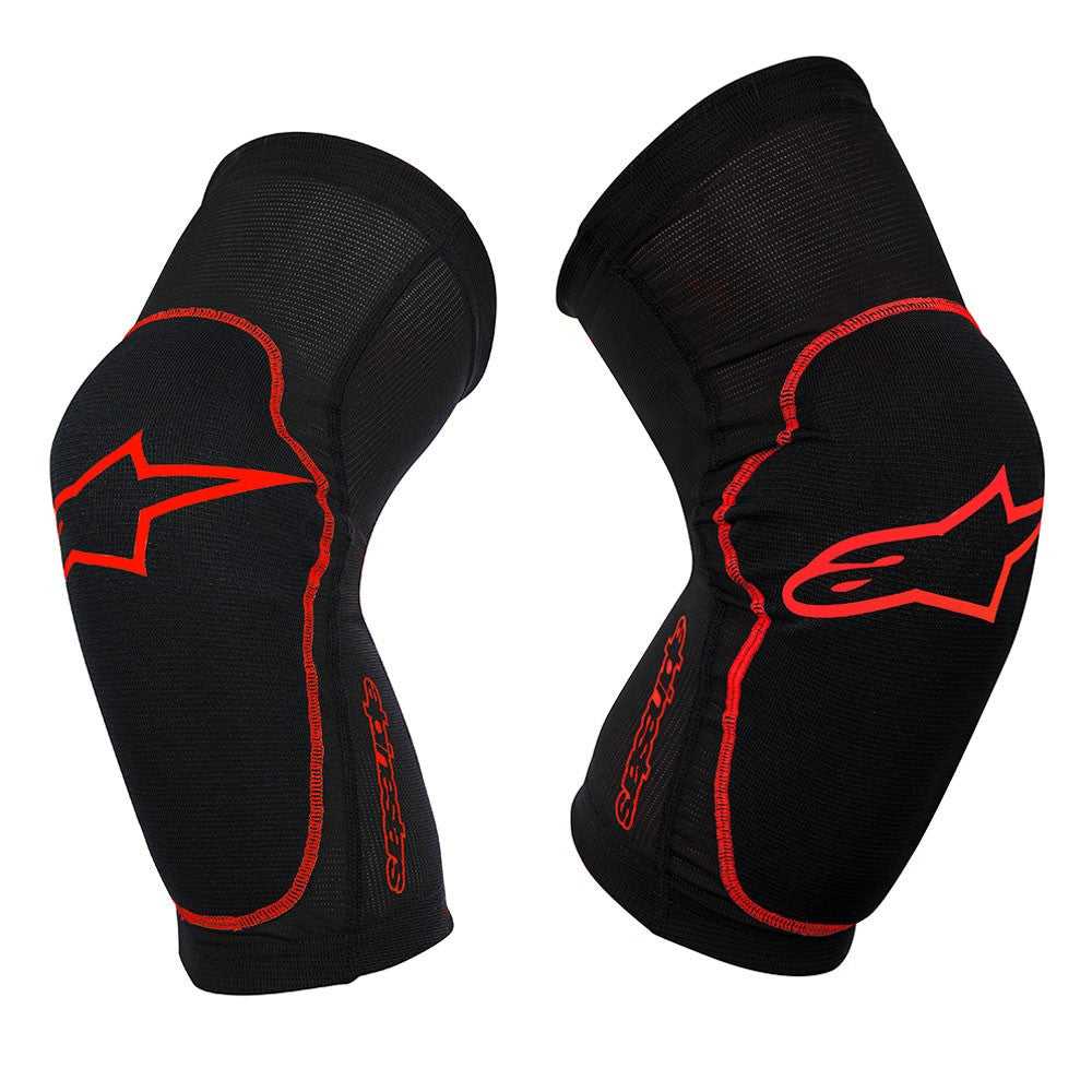 Paragon Knee Protector - Red by Alpinestars