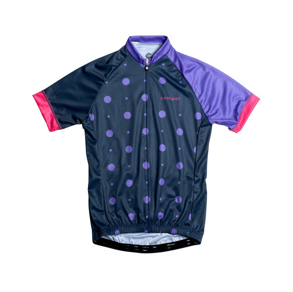 Dots Women's Cycling Jersey by Compel