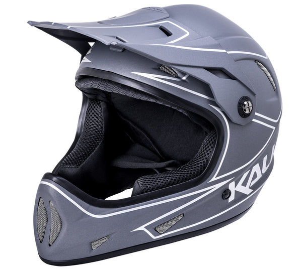 Alpine Matte - Gray/Silver by Kali Protectives