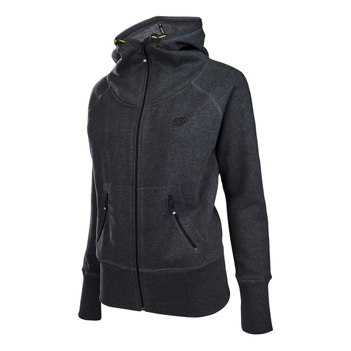 Rally ZipUp Womens Hoodie- Graphite by Troy Lee Designs