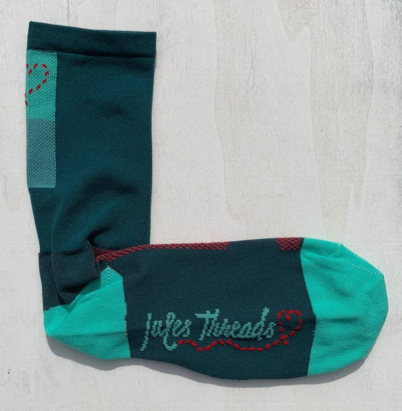 Evergreen Socks by Jules Threads