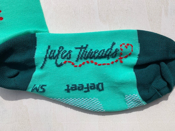 Peppermint Socks by Jules Threads