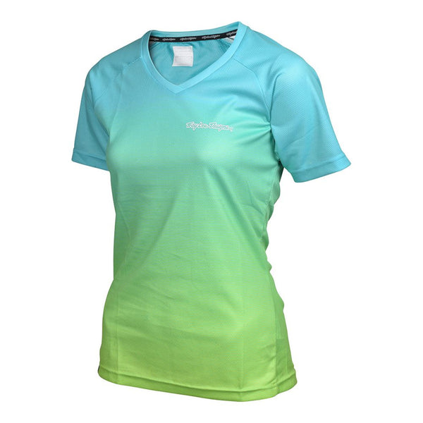 Skyline Jersey Dissolve - Turquoise by Troy Lee Designs