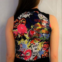 Graffiti Print by Wicked Girl Jerseys