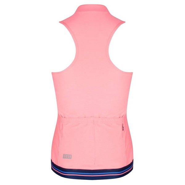Susy Sleeveless Top Coral - Pink by Susy Cyclewear