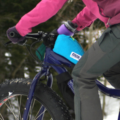 Burrito Hauler Top Tube Bag - Bison Logo by Dirtbags