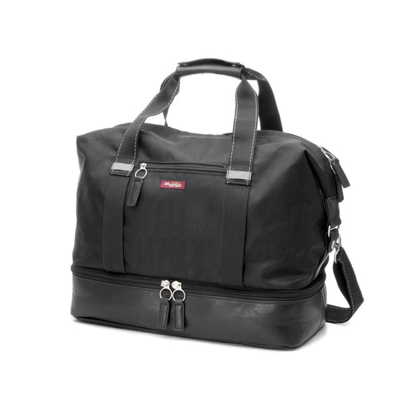 Midway Weekender Gym Bag- Black Herringbone by Po Campo