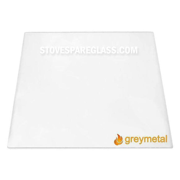 Greymetal Stove Glass