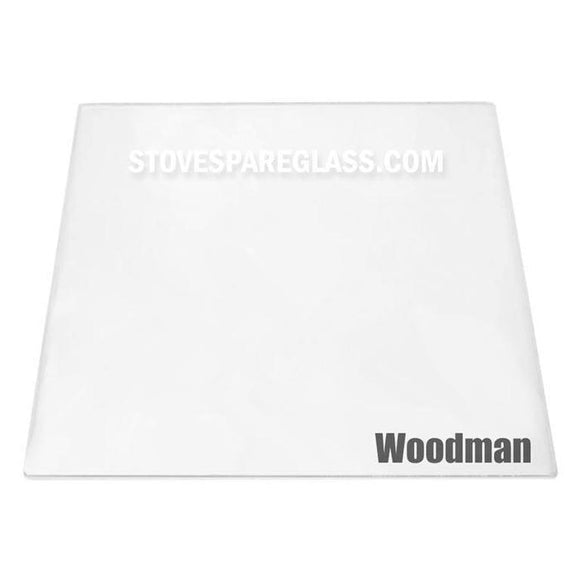 Woodman Stove Glass