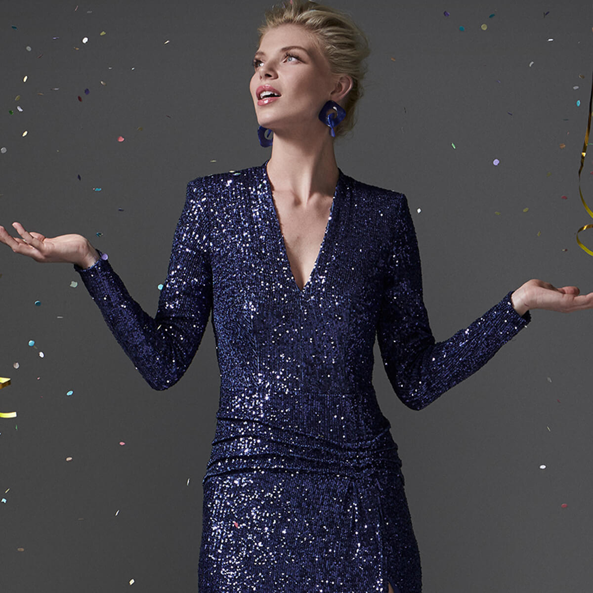 Sequin dresses – why women are never too old to sparkle