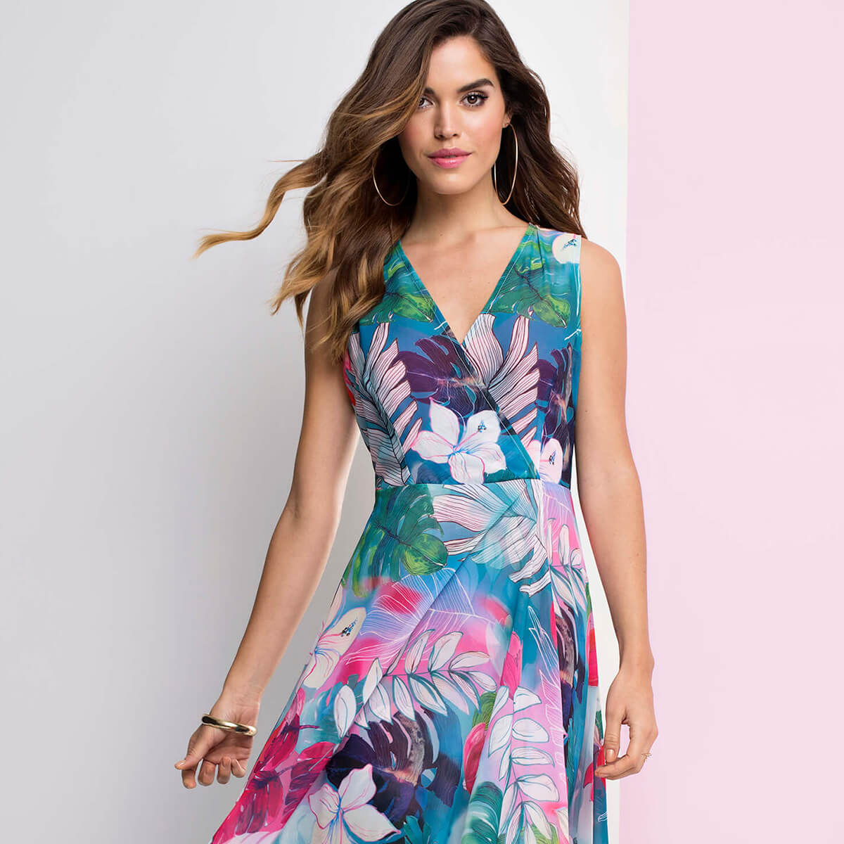 Six blooming lovely floral print summer dresses