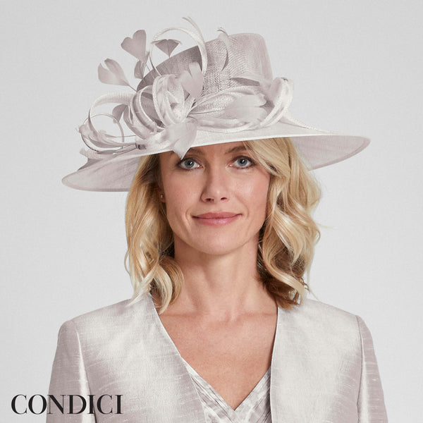 1393P Condici Hat Evie Mineral - Fab Frocks