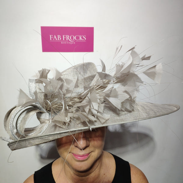 Ispirato ISC100 French Grey Hat - Fab Frocks