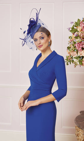 Veni Infantino 991471 Blue Hi-Lo Special Occasion Dress - Fab Frocks