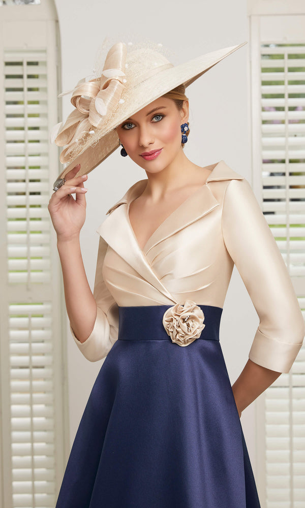 991509 Bellini Navy Veni Infantino Special Occasion Dress