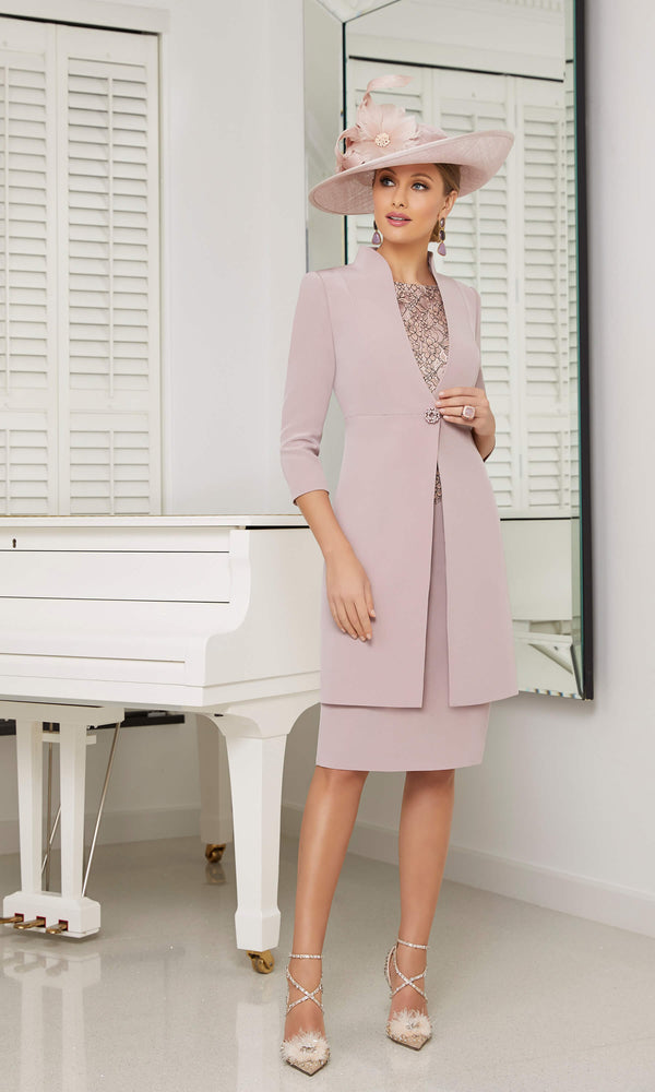 991633 Cameo Rose Veni Infantino Frock Coat & Dress - Fab Frocks