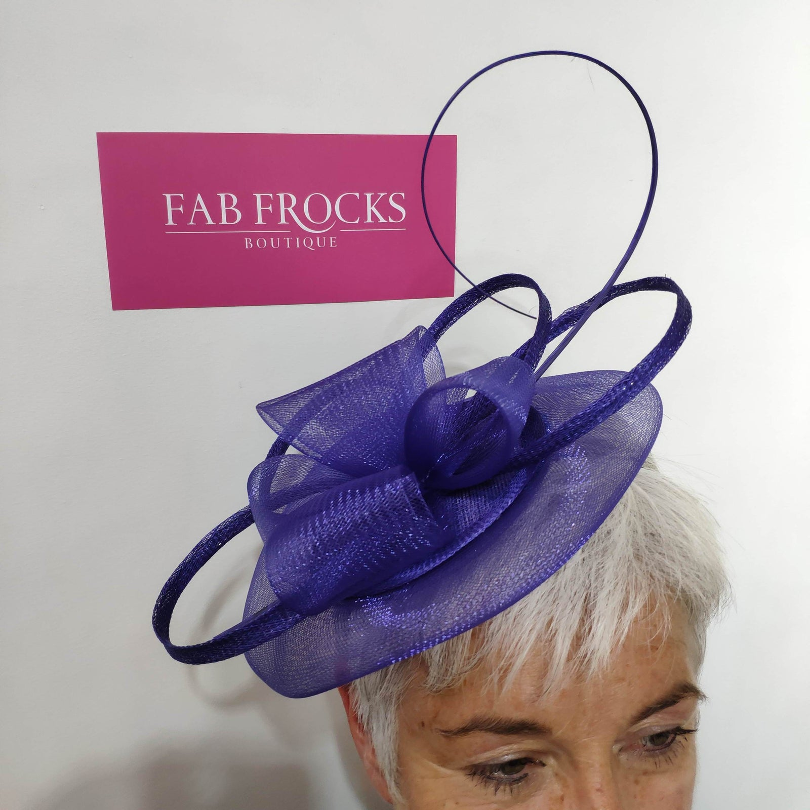 BL5132 Marine Fischer's Accessories Fascinator - Fab Frocks