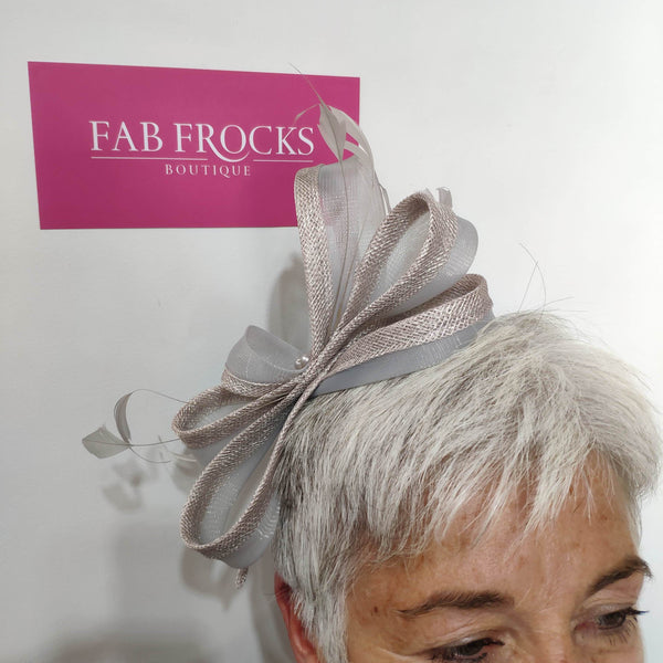 BL5179 Pearl Fischer Accessories Fascinator - Fab Frocks