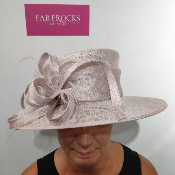 9317 Mist Pink Failsworth Millinery Hat - Fab Frocks