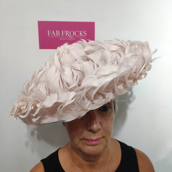 Failsworth Millinery 7826 Candy Pink Hatinator Disc - Fab Frocks