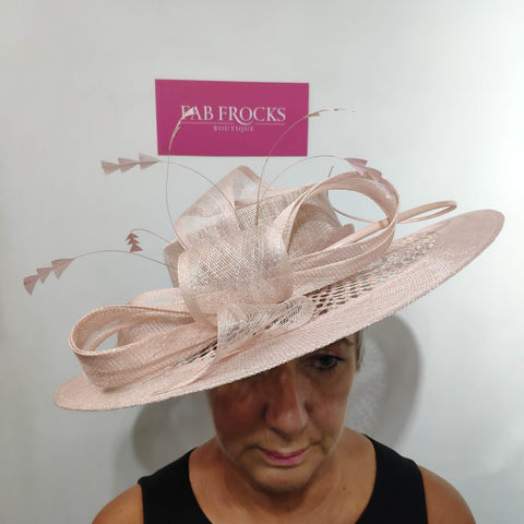 3033 Rose Pink Peter Bettley Hat - Fab Frocks