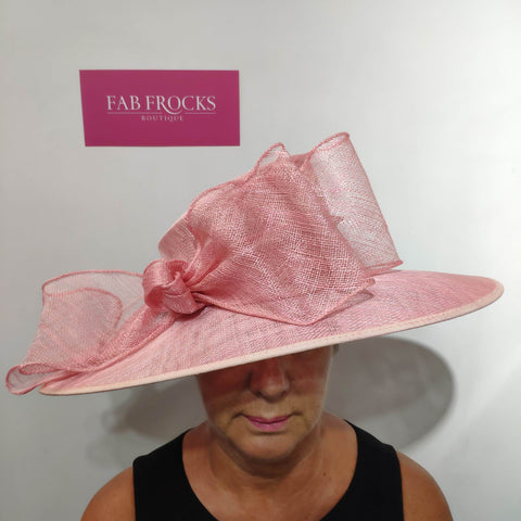 Failsworth Millinery 9141 Coral Hat - Fab Frocks