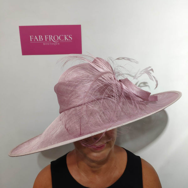 Failsworth Millinery 7841 Orchid Pink Hat - Fab Frocks