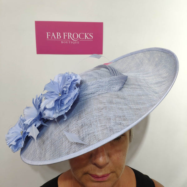 Ispirato ISC102 Dusty Blue Hatinator Disc - Fab Frocks