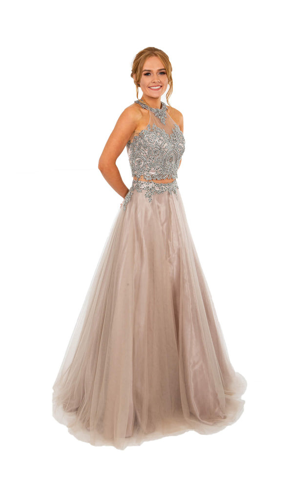 PF9630 Lavender Prom Frocks Two Piece Ballgown - Fab Frocks