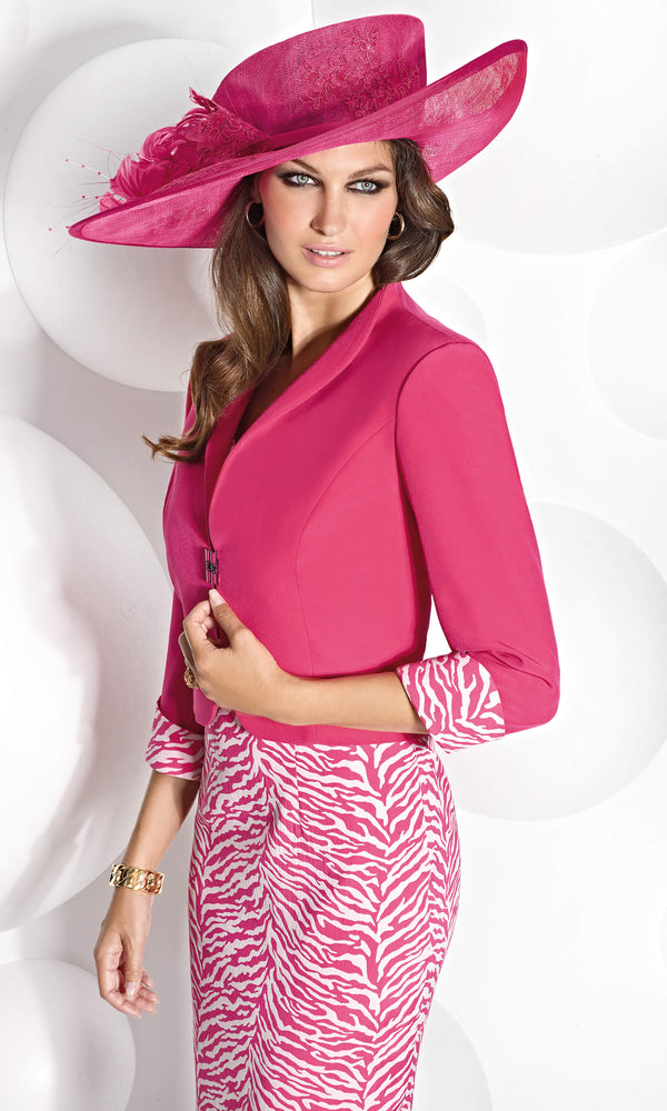 Cabotine 5006737 Fuchsia Dress & Bolero