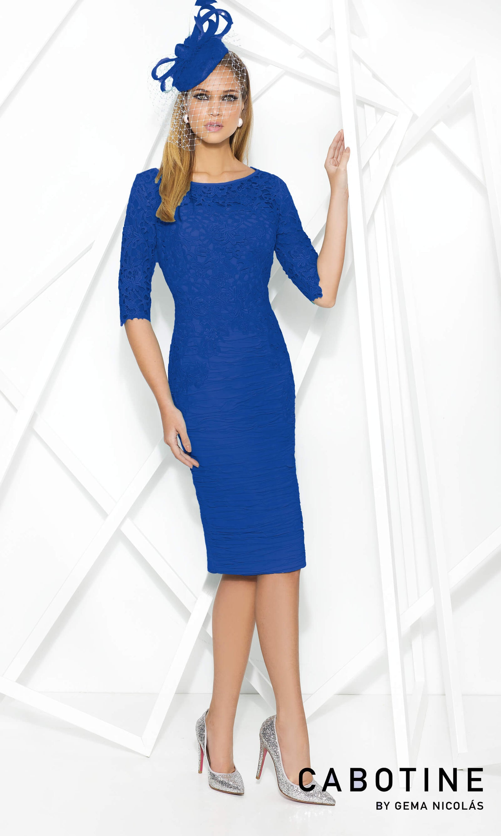 5007758 Cobalt Cabotine Special Occasion Dress