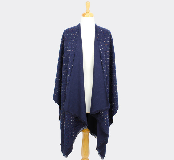 Carmen Wrap Navy Tilley & Grace