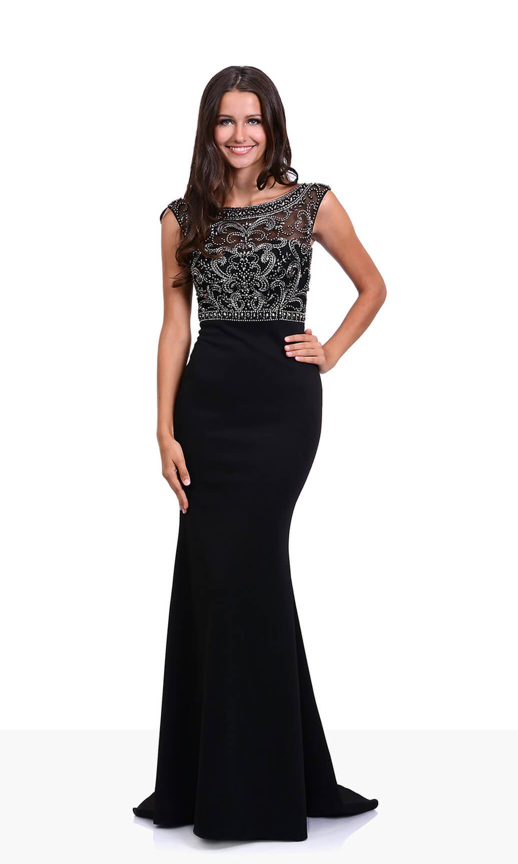 Christian Koehlert 0430 Phantom Black Evening Prom Dress