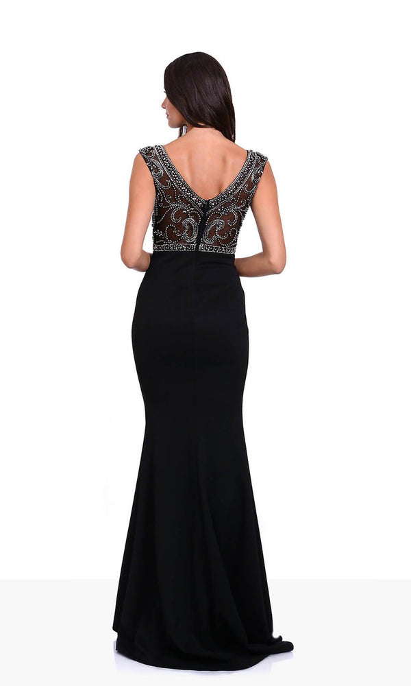 Christian Koehlert 0430 Phantom Back Dress Back